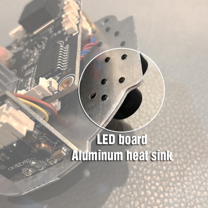 Bo mạch hồng ngoại và LED pha của camera wifi XM350