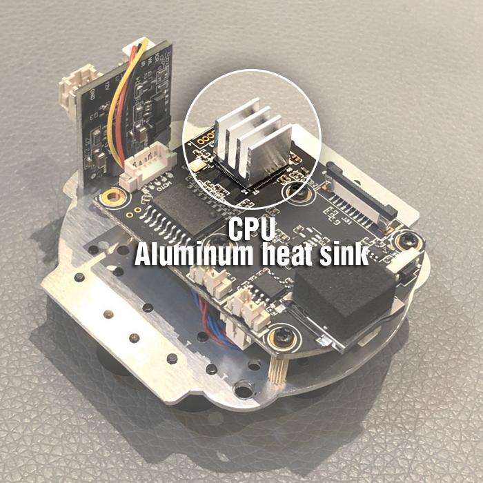Camera wifi XM350 có tản nhiệt chipset