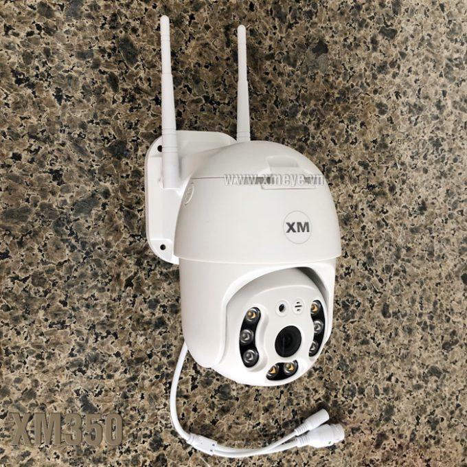 Camera wifi XM350 ngoài trời có màu ban đêm