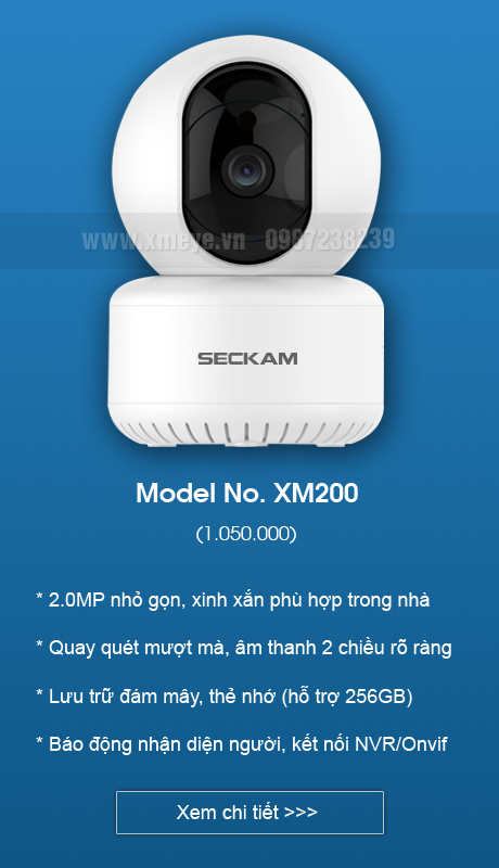 Camera wifi XMeye iCsee trong nhà hỗ trợ onvif kết nối đầu ghi hình